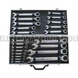 Zestaw kluczy płasko-oczkowych 25szt Kraftwelle