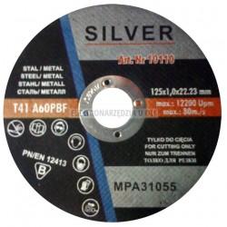 Tarcza do cięcia metalu 125x1,0x22,2