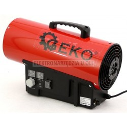 Nagrzewnica gazowa Geko 20kw regulacja, termostat