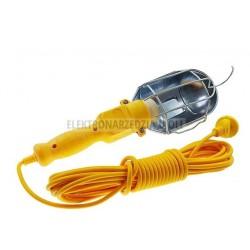 Lampa warsztatowa na kablu z ochroną 10m
