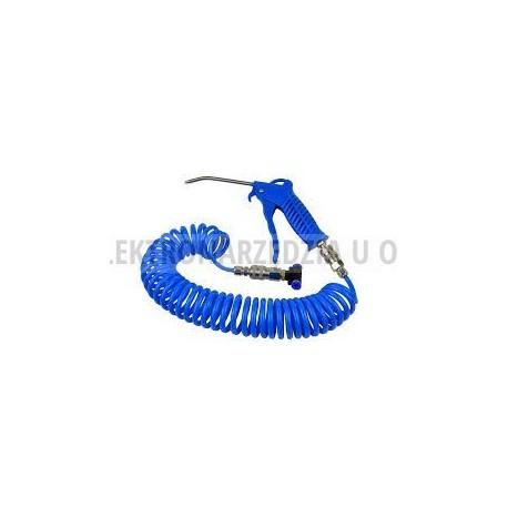 Pistolet do przedmuchiwania z trójnikiem+wąż pneum