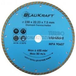 Tarcze turbo Blaukraft 230x22,2x7mm