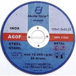 Tarcze do cięcia metalu 125x1,2x22,2